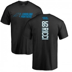 Men's Giovanni Ricci Carolina Panthers Backer T-Shirt - Black